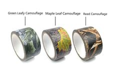 Amazon.com : SZHOWORLD® Outdoor Hunting Bionic Camouflage Adhesive Tape (Reed… Outdoor Tools, Cycling Equipment, Napkin Rings, Camouflage, Adhesive, Tape, Hunting, Rings For Men, Outdoors