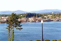 Florence Oregon-Great shops along the back bay area. I bought some beautiful windchimes as a momento of our West Coast road trip in Florence.