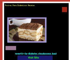 Postres Para Diabeticos Recetas 171608 - Aprenda como vencer la diabetes y recuperar su salud.