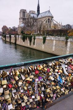Love Lock Bridge, Paris More