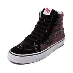 ee41fa159cec63 Shop for Vans Sk8 Hi Van Doren Skate Shoe in Black Port Royal at Journeys  Shoes