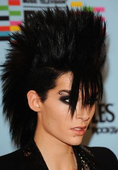 punk rock hairstyles for short hair, not sure how I feel about the bangs though
