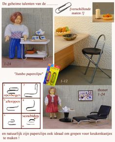 The Secret Talents of the Paperclip (PDF in Dutch, but the photos show the way)
