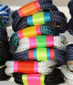 Rope Bracelets - totally knot:ical!!!
