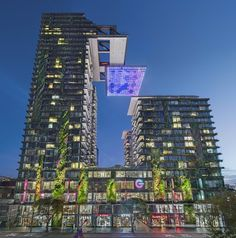 Atelier Jean Nouvel and PTW Architects have completed the second block in Sydney?s One Central Park a residential and commercial complex which is part of a Jean Nouvel, Central Park, Sustainable Architecture, Architecture Design, Residential Architecture, Amazing Architecture, Contemporary Architecture, Parque Linear, Luz Solar