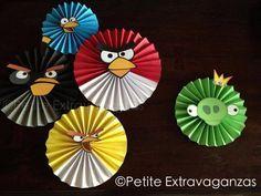 Set de decoración de Angry Birds Party - 5 Angry Birds