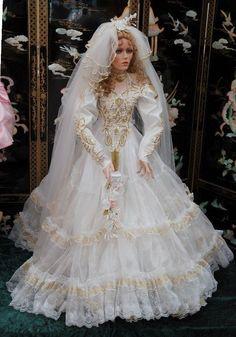 "Mariah Gorgeous Rustie Originals Bride Doll 42"" Tall Simply Amazing | eBay"