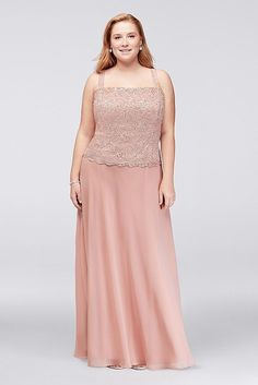 Plus Size Wedding Guest Dresses - Plus Size Two Piece Mother of Bride/Groom Dress with Sequin Lace Jacket Style (sponsored) Beach Wedding Groomsmen, Beach Wedding Guests, Lace Beach Wedding Dress, Beach Wedding Hair, Wedding Dresses, Plus Size Wedding Guest Dresses, Plus Size Dresses, Wedding Photography With Kids, Lace Jacket