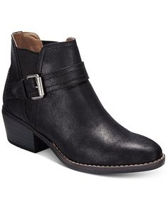 White Mountain Hadley Casual Booties  | macys.com