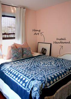 the walls are benjamin mooreu0027s u201csunlit coralu201d