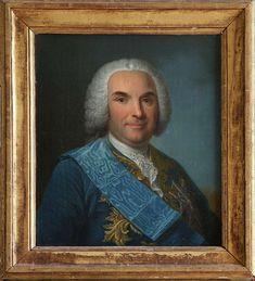 Louis Georges Erasme, Marquis de Contades, Maréchal de France (1704 - 1795).