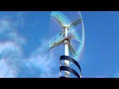 Vertical Wind Turbine - http://www.newvistaenergy.com/wind-energy/wind-turbine/vertical-wind-turbine/
