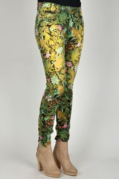 Festival Fashion: Get Yourself Geared Up With The Latest Festival Wear.  MAISON SCOTCH PANT PRINT E COMBO E 07 | Kelly Fashion Webstore