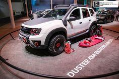 Renault Duster Extreme concept vue avant