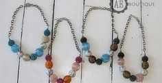 Adorable Chunky Girls Necklace   Jane