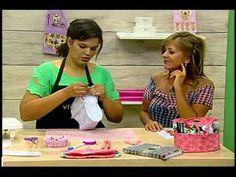 Organizador de bolsa com Renata Silva - Vitrine do Artesanato na TV - YouTube