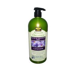 Avalon Organics Bath and Shower Gel Lavender - 32 fl oz