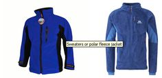 Sweaters or Polar Fleece Jackets - Bring several practical Turtlenecks or T- Shirts for layering and use around the ship