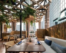 Morimoto Restaurant Interior Design by mpdStudio | Wison Tungthunya & W Workspace