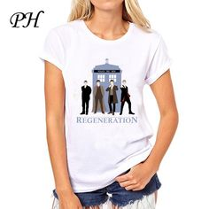 Dr Doctor Who Regeneration Tee T-shirt