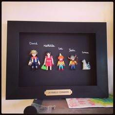 A family photo Playmobil . - photoPlaymobil- A family photo Playmobil … – photoPlaymobil Cool Diy, Easy Diy, Diy Tumblr, Diy For Kids, Crafts For Kids, Drawings, Drawing Portraits, Activities For Kids, Diy And Crafts