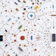 "vjeranski:  ""web of eletronic components  """