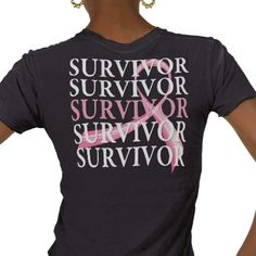 Survivor Whimsical Collage Breast Cancer Tee Shirts from http://www.zazzle.com/breast+cancer+awareness+gifts