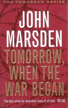 Tomorrow, When the War Began John Marsden Somewhere out there Ellie and her friends are hiding. They're shocked, they're frightened, they're alone. Their world has changed, with the speed of a slamming door. They've got no weapons - except courage. They've got no help - except themselves. They've got nothing - except friendship.