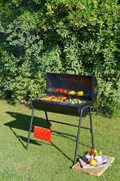 Oil-Drum-Charcoal-BBQ-with-Lid
