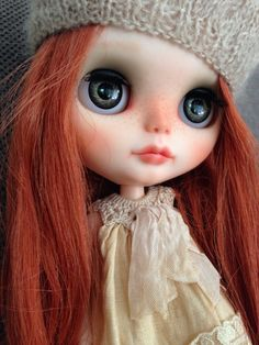 Blythe custom doll by Pinkbabyblythe on Etsy