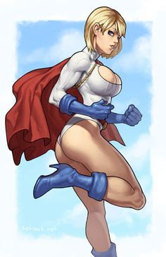 Since the modern Superman had Supergirl, the original Superman gained Power Girl, who was that universe Superman's cousin.