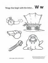Letter W Water theme lesson plan printable activities