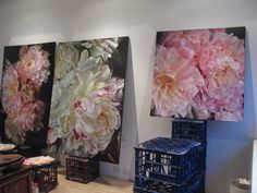 Paintings in Situ - marcella kaspar Pressed Flower Art, Arte Floral, Art For Art Sake, French Art, Watercolor Flowers, Painting Inspiration, Art Images, Art Decor, Pastel