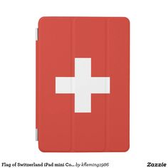 Flag of Switzerland iPad mini Cover