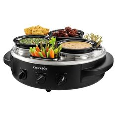 I need this triple dipper crock pot for parties!
