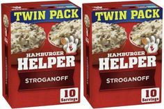 CHEAP Hamburger Helper Meals! Twin Pack Only $1.98! Grocery Deals, Coupon Queen, Hamburger Helper, Beef Stroganoff, Pop Tarts, Twin, Snack Recipes, Meals, Money