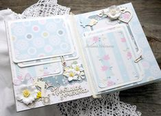 "Svetlana Nekrasova: albomchik for ""Paper joys"" Scrapbook Journal, Mini Scrapbook Albums, Scrapbook Paper, Scrapbooking Layouts, Baby Sketch, Diy Crafts For Girls, Baby Girl Scrapbook, Mini Albums Scrap, Mini Photo"