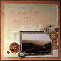 Sob o sol da Toscana  by Carmem Lucia Calvo