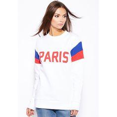 Paris Fitted Jersey Fleece Sweater