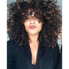 ***Try Hair Trigger Growth Elixir*** ========================= {Grow Lust Worthy Hair FASTER Naturally with Hair Trigger} ========================= Go To: www.HairTriggerr.com =========================     I LOVEEEE the Color on the Ends of Her Curls!!!!