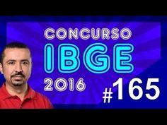 Concurso IBGE 2016 - Agente de Pesquisas e Mapeamento - Português aula 165