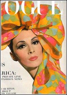Wilhelmina, cover photo by Irving Penn for Vogue, March 1965