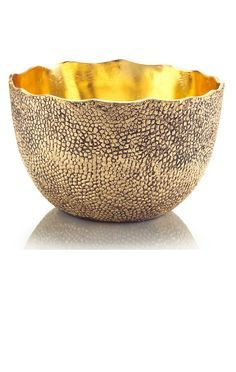 Luxury Wedding Gift Ideas, Designer Golden Shagreen Textured Wedding Bowl, so beautiful