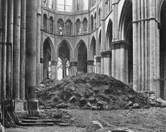 Image result for cattedrale reims bombardata