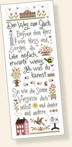 Can't understand this, but love all the little images...Les Marottes de Nathalie (deutsche Version)