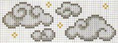 grafico ponto cruz nuvem - Pesquisa Google
