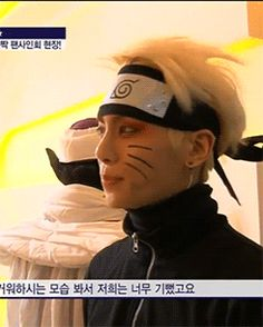 SHINee's Kim Jonghyun as Naruto. Um' I may be alone in this thought but I love both so very much. I think this is my next fanfic-ish story topic. My fave Anime and all my fave K-pop together in various memes and stuff soon to come. One already exists but its of Double S 301 don't tell SHINee though Kay:)