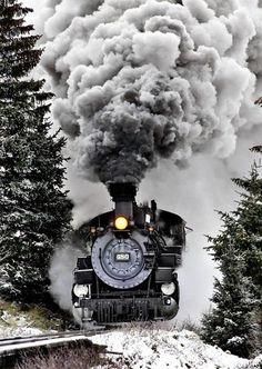 ♂ SILENCE PREVAILS black train #ecogentleman #automotive #transportation #wheels