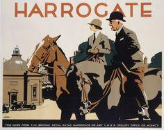 Harrogate poster, L.N.E.R.