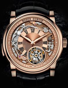 ROGER DUBUIS - Hommage Minute Repeater Tourbillon Automatic. Эксклюзивные модели 2014